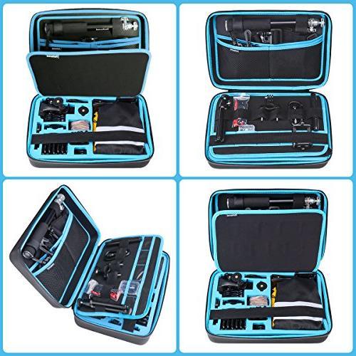 "Ultimate 70in1 GoPro GoPro Starter Suit w/Hi Dual-Layer Waterproof Anti-impact Hand Bag 6 4 3+ 3 Session AKASO -13"""