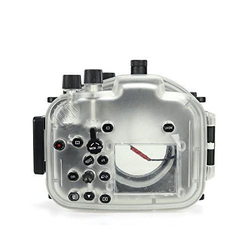 Sea frogs camera diving case for A7II A7R A7S II