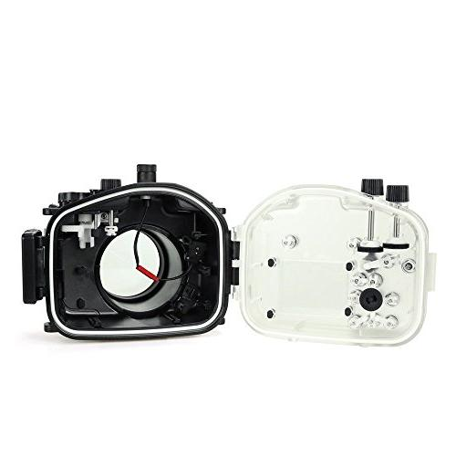 Sea camera diving waterproof case for Sony A7II A7R
