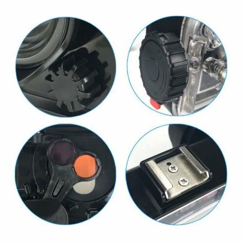 Underwater Photography Diving Case Fisheye Lens