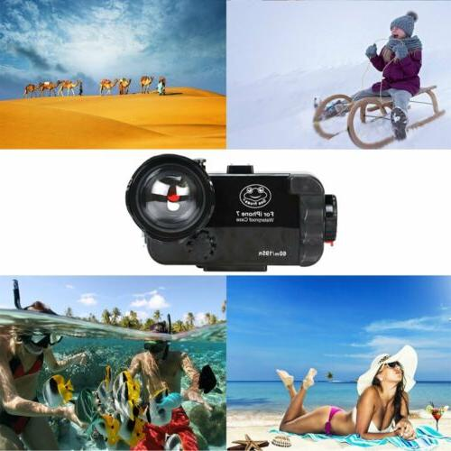 Underwater Photography Case Diving Case + Fisheye Lens for