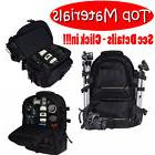 Universal DSLR SLR Camera Large Backpack Bag for Nikon Canon