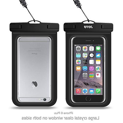 Universal Waterproof CellPhone Dry for Apple 6, 6S Plus, SE, 5S, Samsung Galaxy S6 HTC Sony Nokia Motorola up diagonal