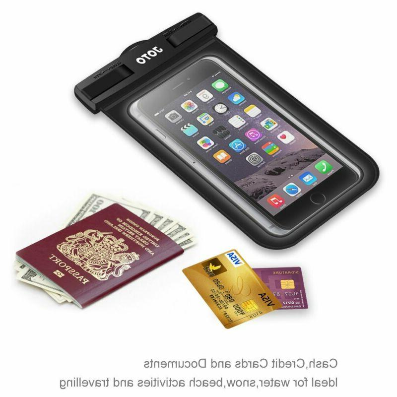 JOTO Waterproof Case Cellphone Dry Bag for