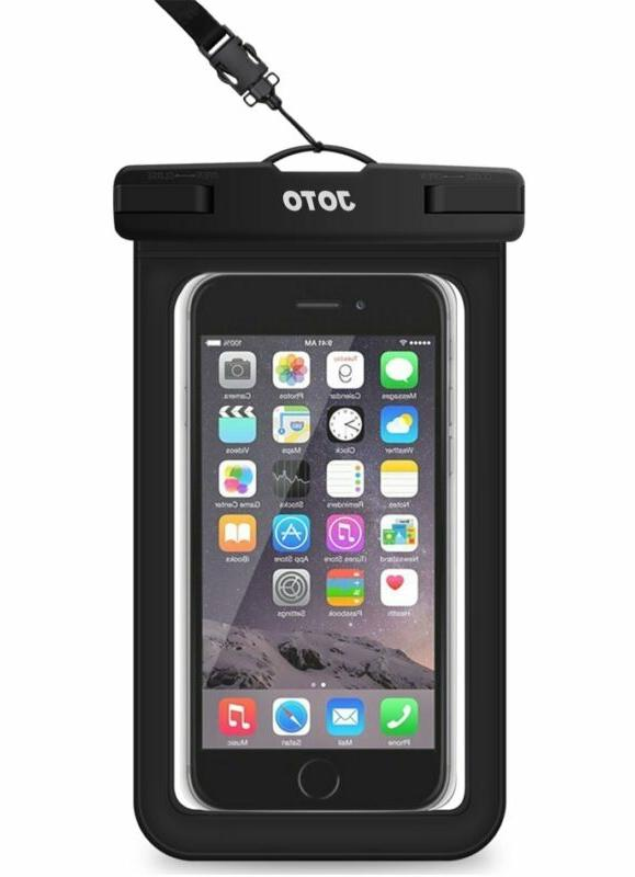 JOTO Waterproof Case Universal, Cellphone Dry Bag Pouch for