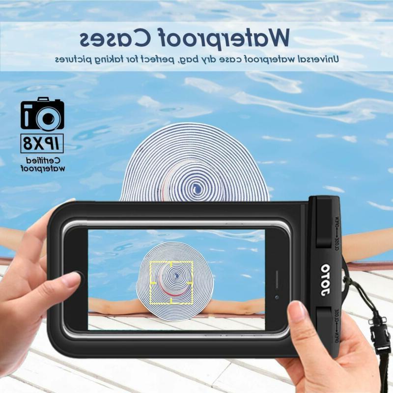 JOTO Waterproof Cellphone Bag for Xs...
