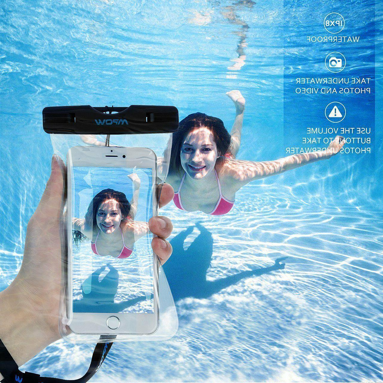Mpow Universal Underwater Dry Cover For iPhone Samsung