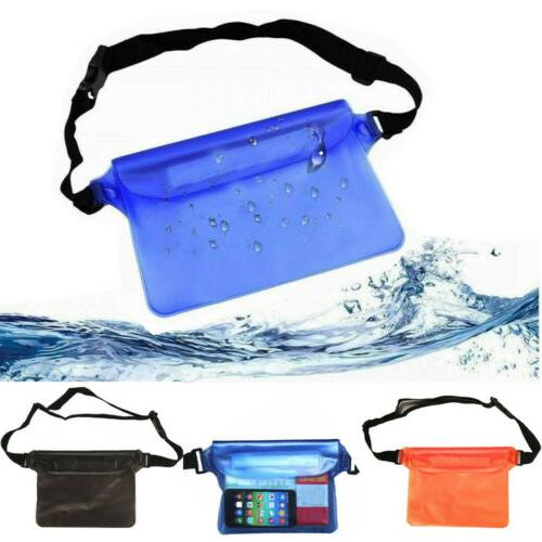 universal waterproof waist bag underwater case