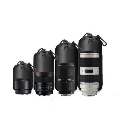 US Black Waterproof Lens Protector Case