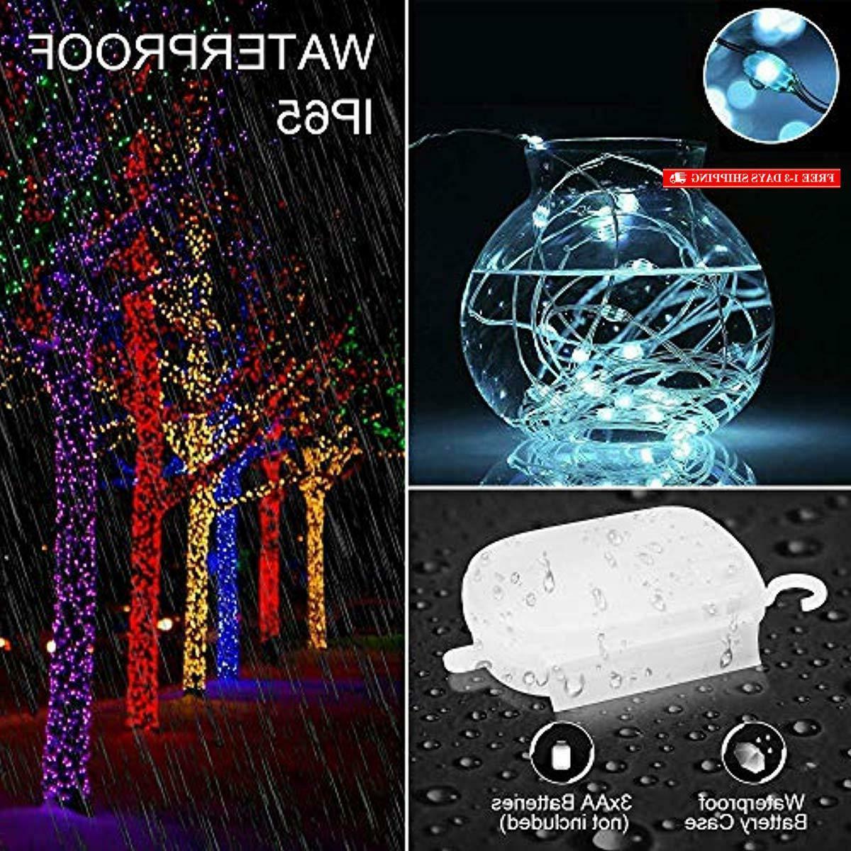 Ustellar RGB LED Starry String Outdoor Waterproof Color