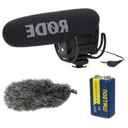 Rode VMPR VideoMic Pro R with Rycote Lyre Shockmount With Ro