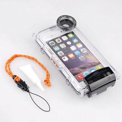 waterproof 40m 130ft underwater photography protective case