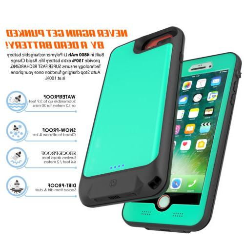 Waterproof Battery Case Rechargeable Power Charger Cover for