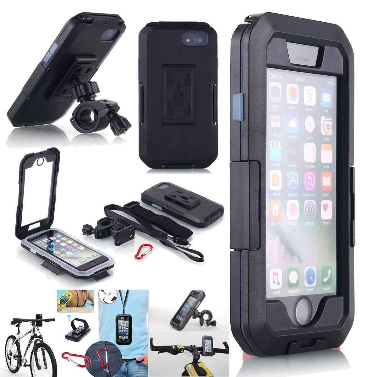 Waterproof Bike Bicycle Handlebar Mount Holder Armband Case