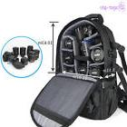 Waterproof Camera Case Bag Multifunction Backpack for Canon