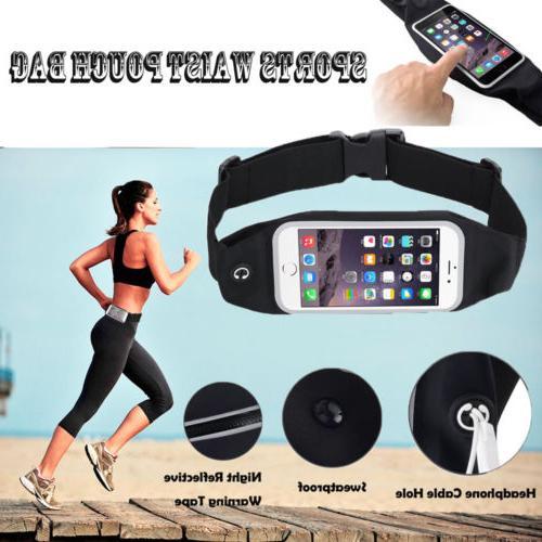 Waterproof Case Bag Sports Jog Running Belt Waist Pack For i