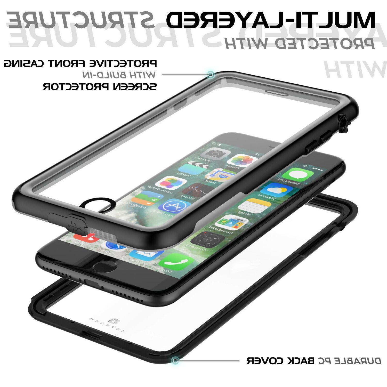 Waterproof Case iPhone Plus Shockproof Dirtproof Series Cover