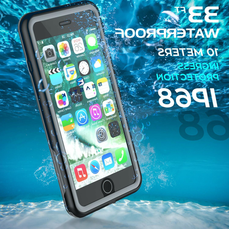 Waterproof Case for iPhone & Plus Shockproof Dirtproof Cover