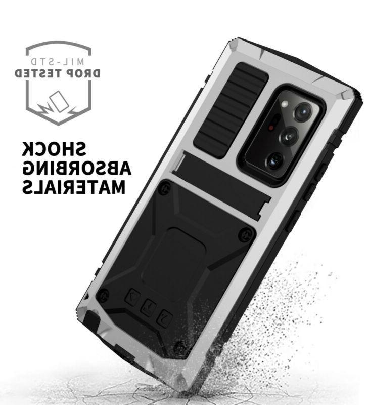 hybrid Waterproof Case For Samsung Galaxy Ultra 5G Glass Screen