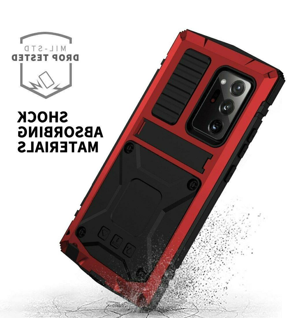 hybrid Waterproof Case Samsung Note 20 Ultra 5G + With Glass Screen