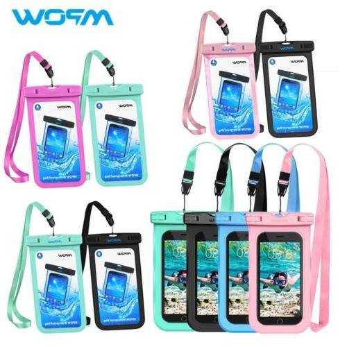 Mpow Waterproof Case Universal Waterproof Cellphone Pouch Un