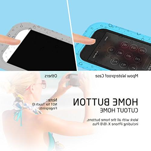Mpow Waterproof Phone IPX8 Universal Underwater Compatible for Galaxy Pixel/HTC to