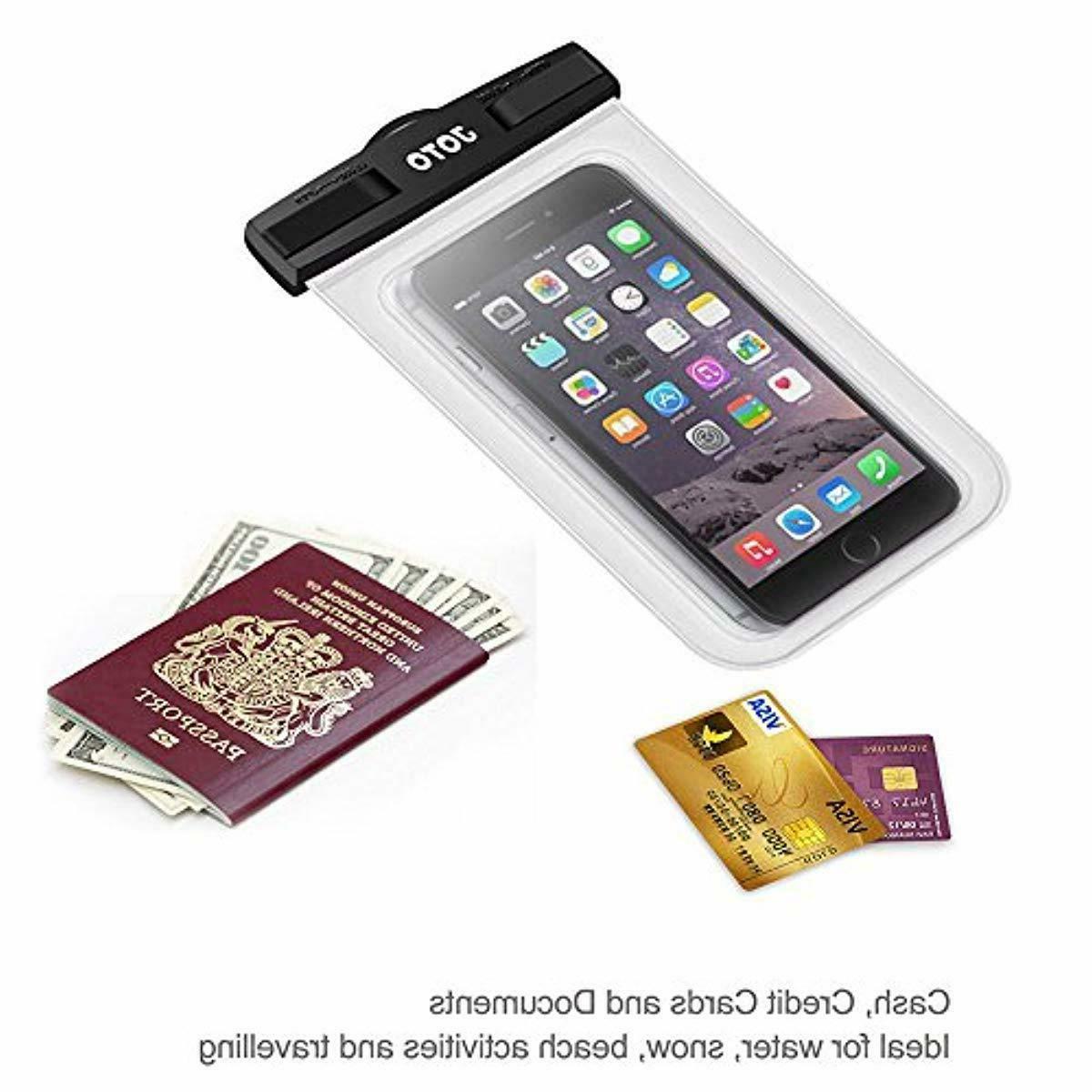 JOTO Waterproof Cellphone Bag Underwater for iPhone X 7