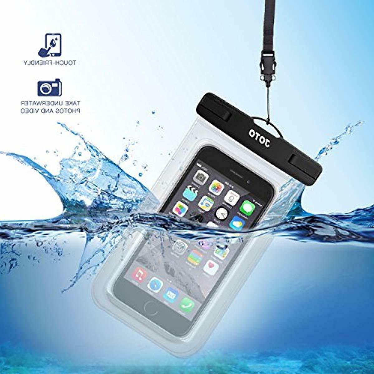 JOTO Waterproof Bag iPhone XS Max XR X 8
