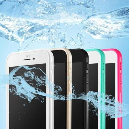 Waterproof Shockproof Rubber Touch TPU Case Cover For Apple