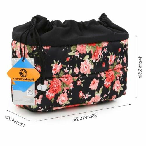 Koolertron Waterproof DSLR SLR Camera Bag Shockproof Partiti