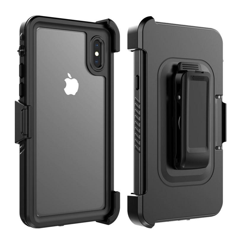 Waterproof Dustproof Shockproof Case Clip Holster for iPhone