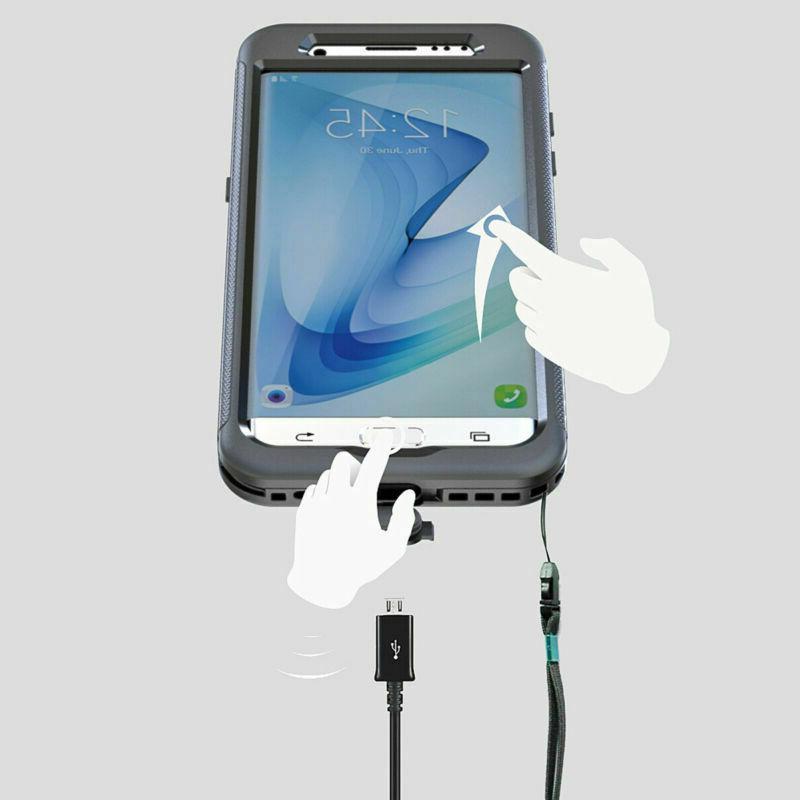 Waterproof Case For Samsung Galaxy S7 Edge
