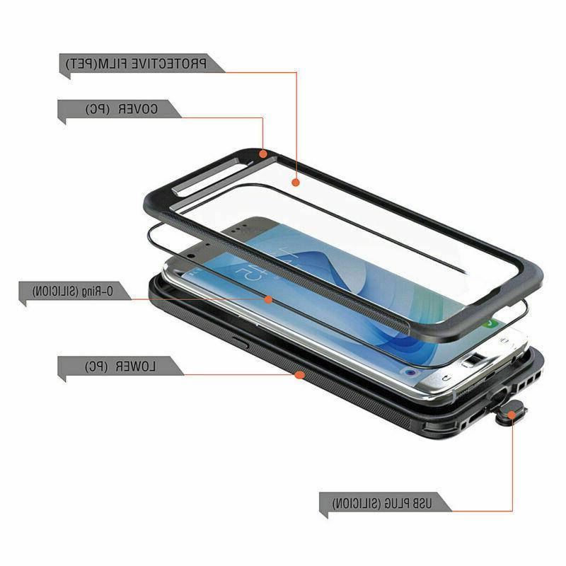Waterproof Dustproof Shockproof Case Cover Galaxy S7 Edge