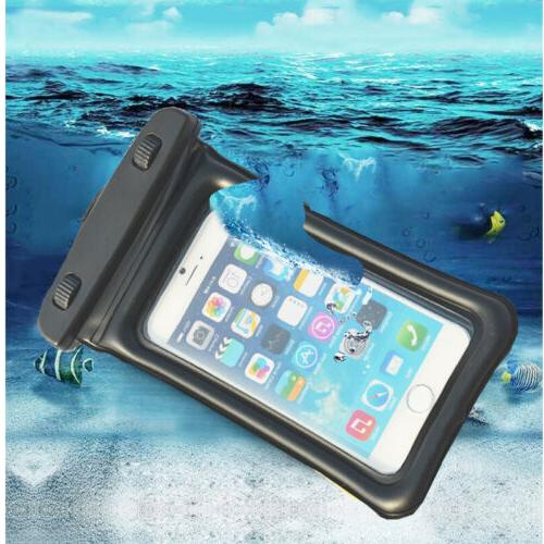 Underwater Pouch Bag Case Waterproof Fit Samsung LG Phone