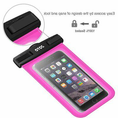 Waterproof IPX8 Pouch Dry Bag Universal Up 6 Magenta