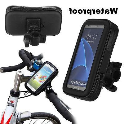 Waterproof Motorcycle Bike Bicycle Handlebar Mount Holder Ca