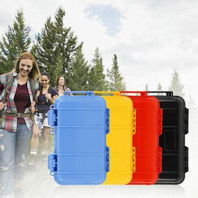 Waterproof Shockproof Outdoor Survival Container Plastic Sto