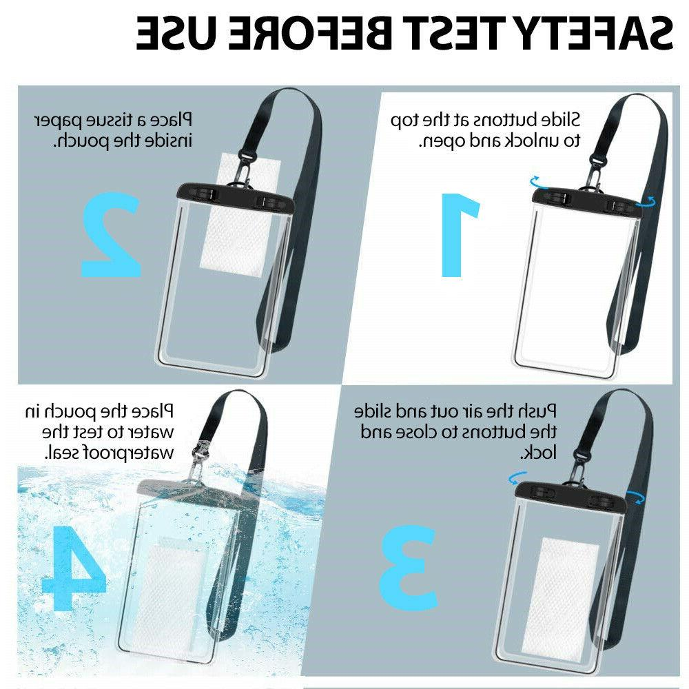 Waterproof Bag Pouch Underwater Cell Case Cover Dry