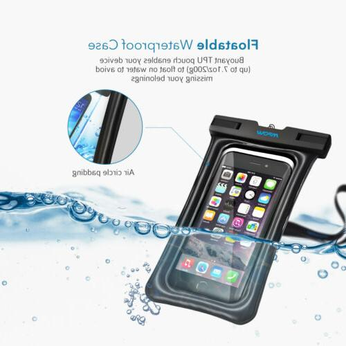 Mpow Phone Case Anti-Water Pouch Dry Cover for iPhone XS