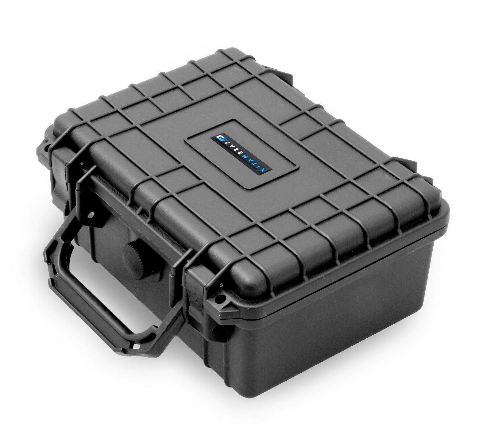 """CM 9"""" Waterproof Case fits Recorders, Microphones, Mixers, E"""