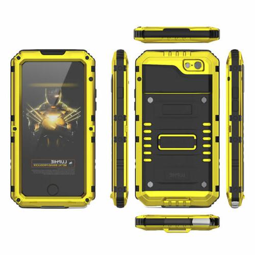 Waterproof Metal Case Cover for iPhone