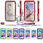 Waterproof Shockproof Back Clear Case Hard Cover Skin For Sa