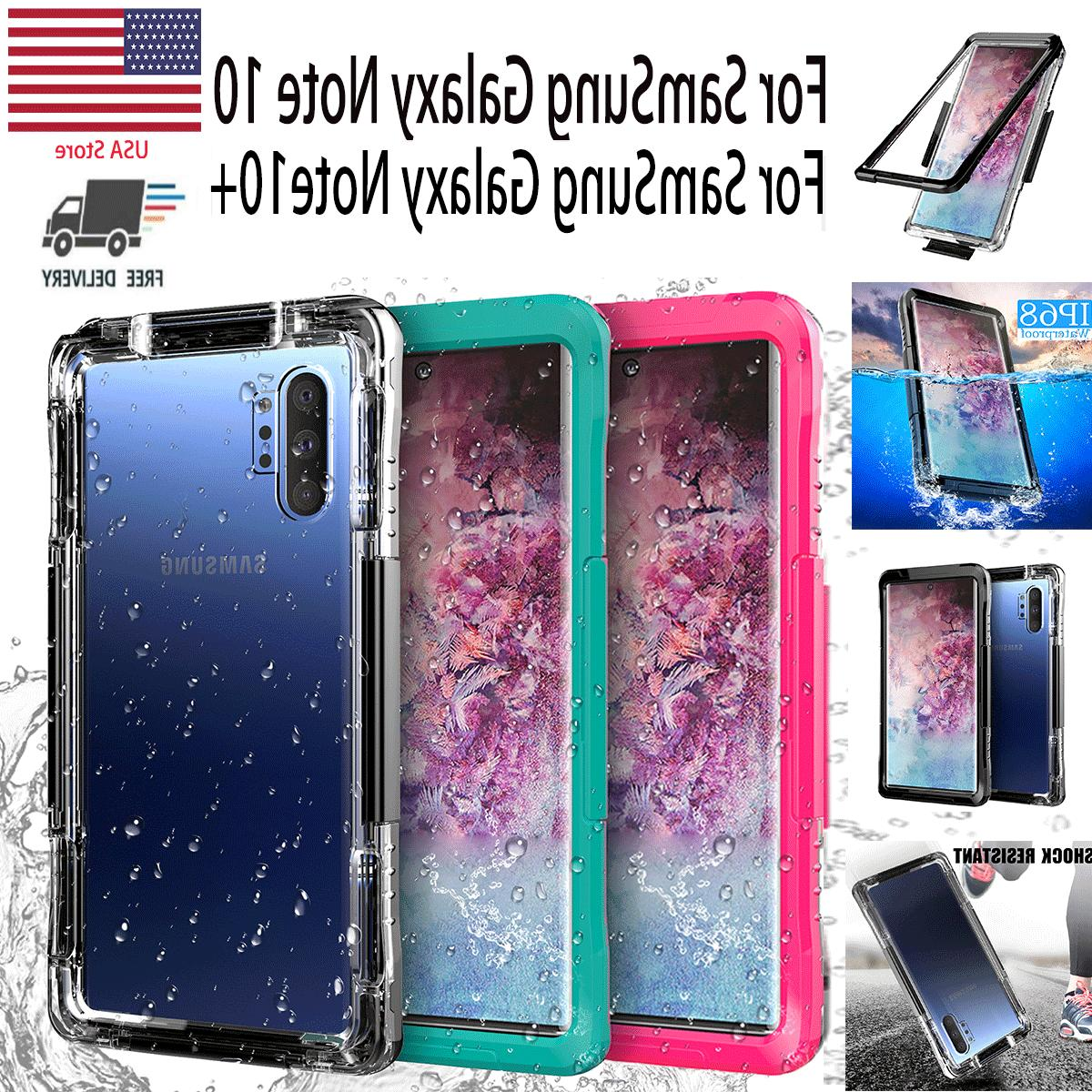 waterproof shockproof case cover for samsung galaxy