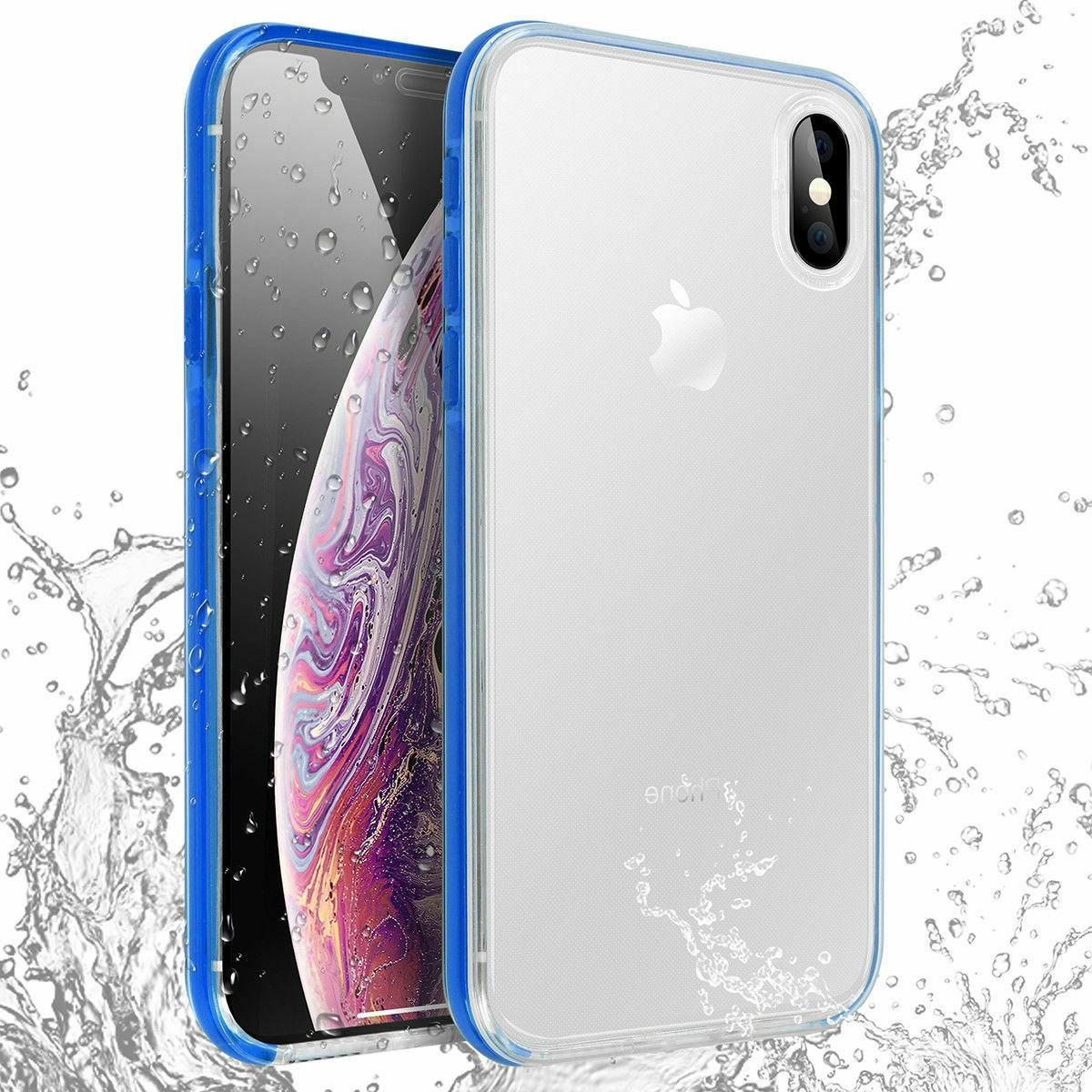 Waterproof TPU Case Cover For iPhone X XR 6 8 Plus