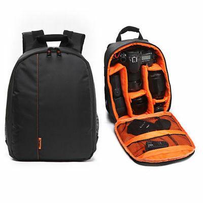 Waterproof Shockproof DSLR SLR Camera Backpack Bag Case for
