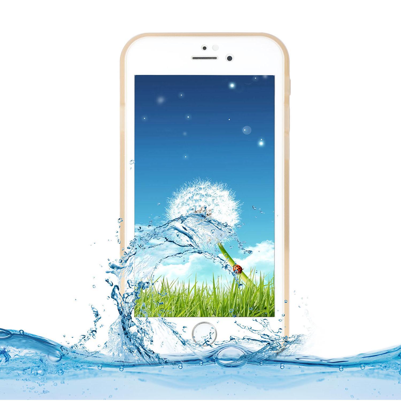 Waterproof TPU Phone Case For iPhone Plus