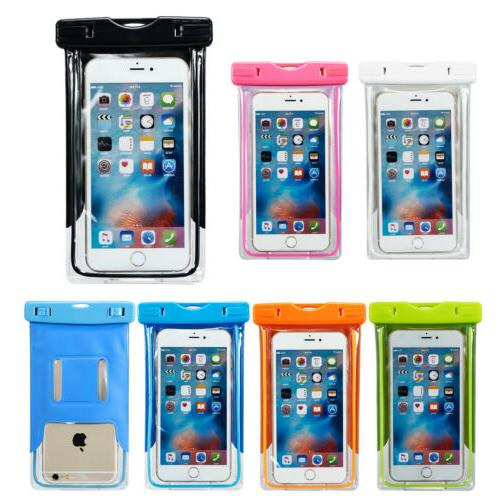 Waterproof Touch Arm Band Pouch Holder Dry Bag Case For Appl