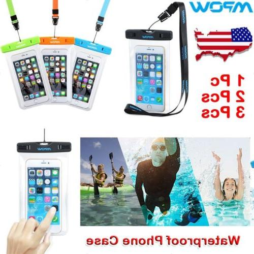 Mpow Waterproof Underwater Phone Dry Case Touch Screen Pouch