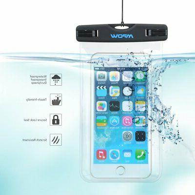 waterproof underwater phone dry case bag touch