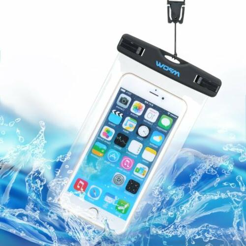 Mpow Waterproof Underwater Dry Case Bag Screen New